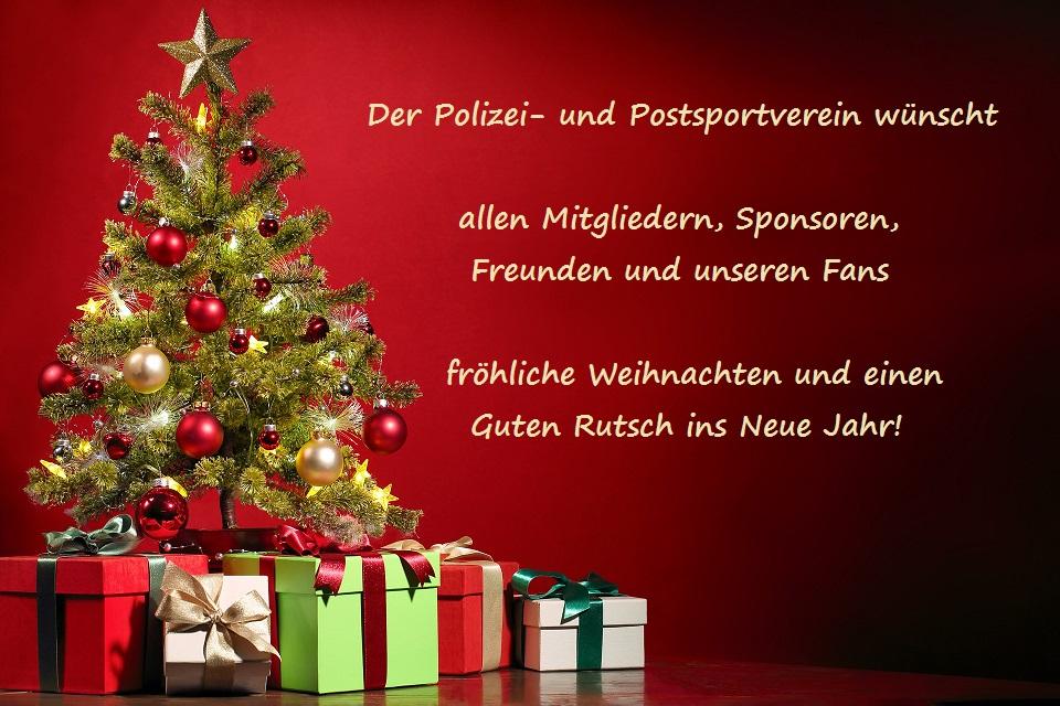 Weihnachtsgrüße Polizei.Weihnachtsgrüße Polizei Und Postsportverein E V