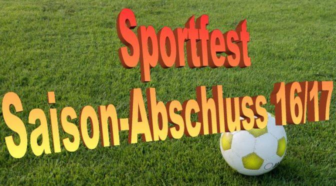 Sportfest zum Saison-Ende
