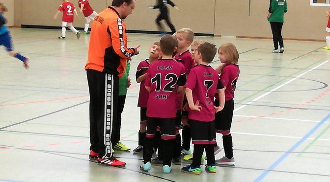 Hallen-Turnier F-Junioren in Steinbach-Hallenberg