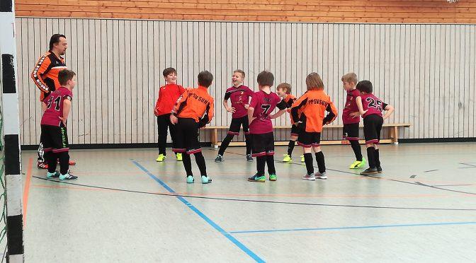 Hallen-Turnier F-Junioren in Suhl