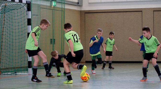 Hallen-Turnier E-Junioren in Steinbach-Hallenberg