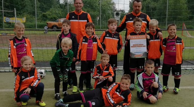 Globus-Baumarkt F-Junioren Turnier am 23.06.2018